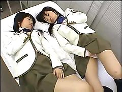Twins Airi and Meiri play with each other... lesbian porn tube
